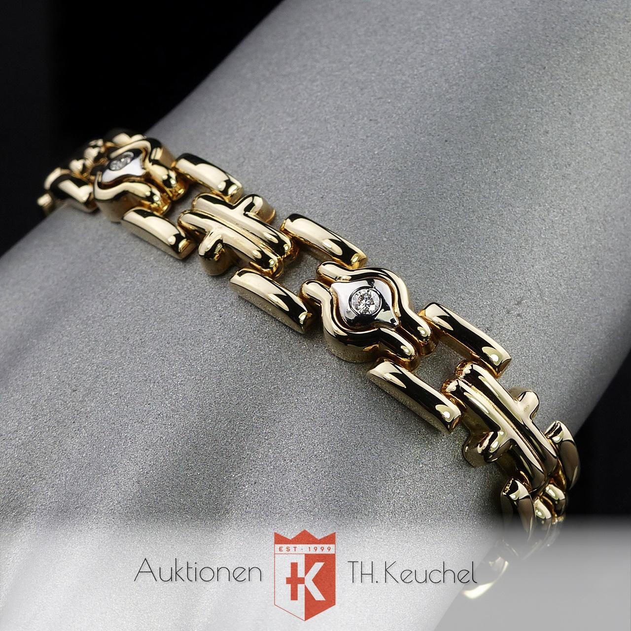 88c12e18ddbb Armband Gold Bicolor 14K 585 mit Brillanten ca. 0,30 Carat Wert ca. €  2.100.-