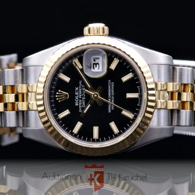 Rolex Oyster Perpetual Lady Datejust Gold Stahl Ref. 179173 26 mm Rehaut Bj. ca. 2006/2007