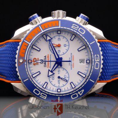 Omega Seamaster Planet Ocean Chrono Michael Phelps limitiert 280 Stück Full Set 215.32.46.51.04.001