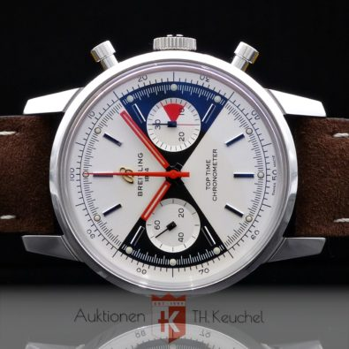 """Breitling Top Time """"Zorro"""" limited Edition Chronograph Ref. A23310121G1X1 Full Set 10/2020 ungetragen"""