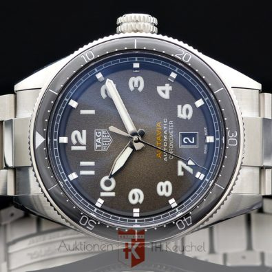 TAG Heuer Autavia 42 mm Automatic Chronometer Ref. WBE5114 - EB0173 Full Set 2020 ungetragen
