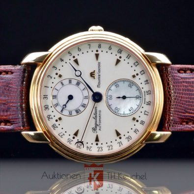 Maurice Lacroix Regulateur Automatic Perlmutt Ref. 19275 Full Set Cal. 2892-2