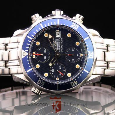 Omega Seamaster 300m Chrono Diver Ref. 2598.80.00 Box Anleitung + div. Belege