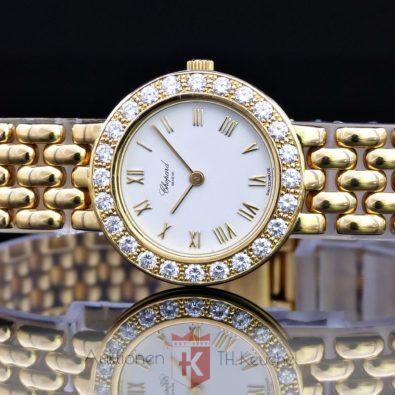 Damenuhr LUC Chopard Classique Gold 18K / 750 Brillanten 1,10 ct Ref. 10/6206 25mm