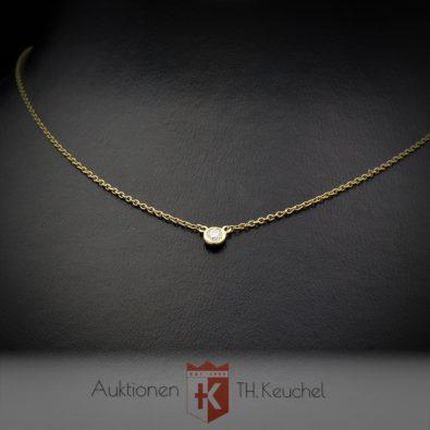 Elsa Peretti® Tiffany & Co. Diamonds by the Yard® Anhänger mit einem Diamanten