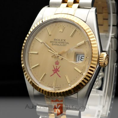 Rolex Oyster Perpetual Datejust 16013 Oman Dial