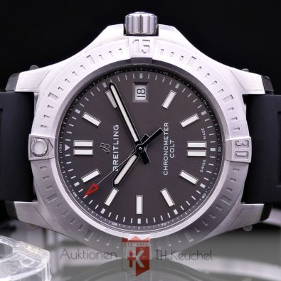 Breitling Colt 41 Automatic Edelstahl - Anthrazit A17313101F1S1