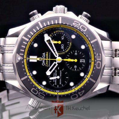 Omega Seamaster Diver 300M Co‑Axial Chronometer Chronograph 44 mm Regatta