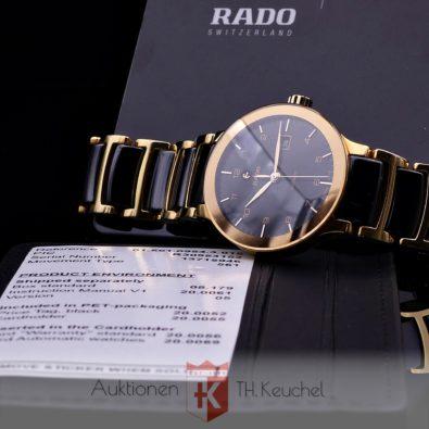 Rado Centrix Automatic 28 mm Stahl PVD vergoldet