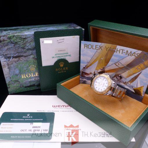 Rolex Yacht-Master 35 Stahl/Gold 68623 Full Set