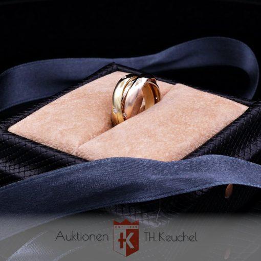Ring Cartier Trinity Diamanten